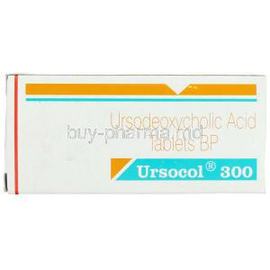 Ursocol, Generic  Ursocol,  Ursodeoxycholic Acid  300 Mg Tablet