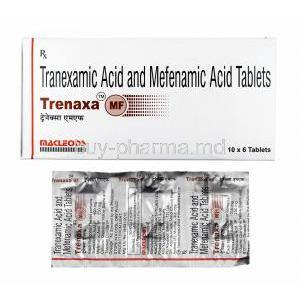 Trenaxa MF, Tranexamic Acid/ Mefenamic Acid