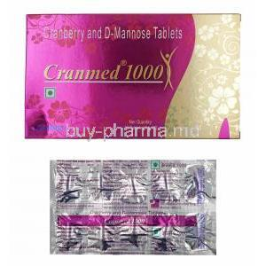 Cranmed, Cranberry Extract/ D-Mannose