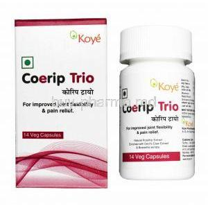 Coerip Trio, Rosehip Extract/ Devil's Claw Extract/ Boswellia Serrata Extract
