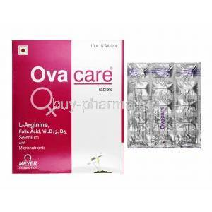 Ovacare, Myo-Inositol/ Multivitamins/ Multiminerals