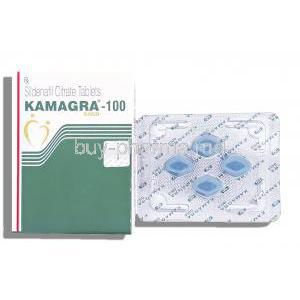 Kamagra Gold, Sildenafil Citrate 100mg Tablets