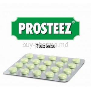 Prosteez box and tablets