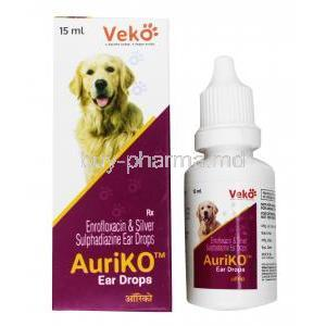 AuriKo Ear Drops for Dogs