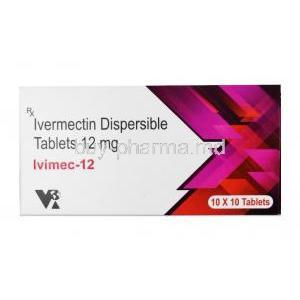 Ivimec, Ivermectin 12mg box