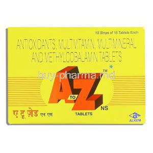 A TO Z, Antioxidant/ MultiVitamins/ Multimineral Tablets