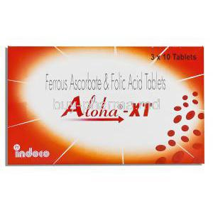 Ferrous Ascorbate/ Folic Acid  Tablets
