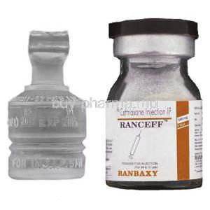 Ranceff 250, Generic  Rocephin,   Ceftriaxone Injection Vial And Sterile Wate