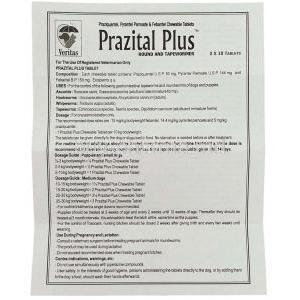 Prazital Plus For Dog Information Sheet 1