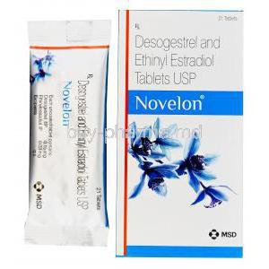 Novelon, Desogestrel 0.15mg and Ethinylestradiol 0.03mg