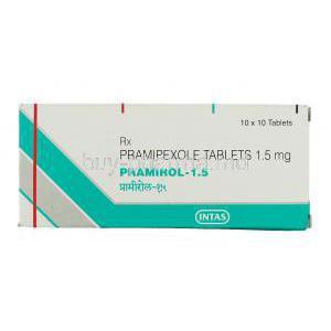 Pramipexole 0.25 mg dosage