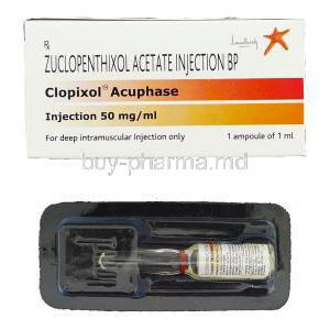 Clopixol Acuphase, Zuclopenthixol Acetate Injection