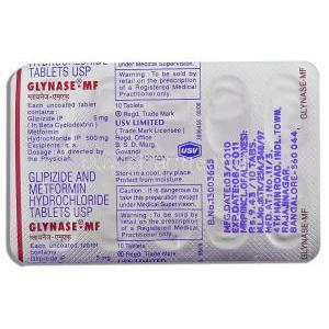Diabetes, Glipizide XL, Metformin, Pioglitazone/ Metformin