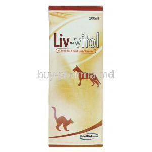 Liv-Vitol, Nutritional Feed Supplement Sylimarin Tonic