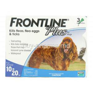 Frontline Plus for Dog Spot On