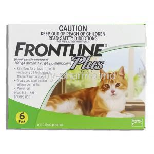 Frontline Plus for Cat Spot On