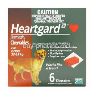 Heartgard 30 Chewable for Dogs