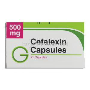 Cefalexin 500 mg box