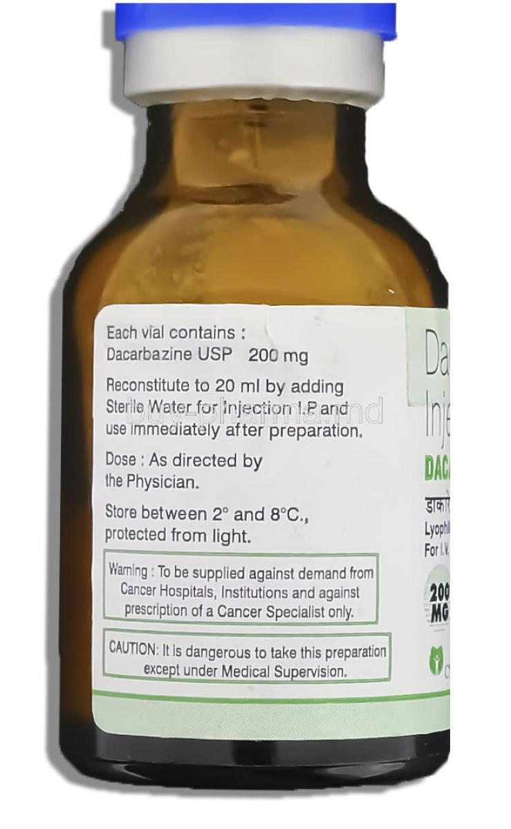 Buy Dacarbazine Injection ( Generic Dtic-dome ) Online Dacarbazine