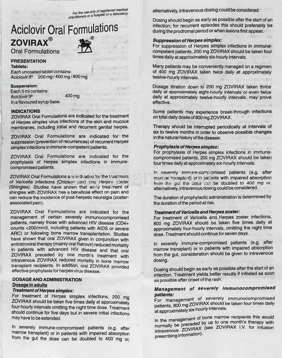 Buy Zovirax Syrup Online