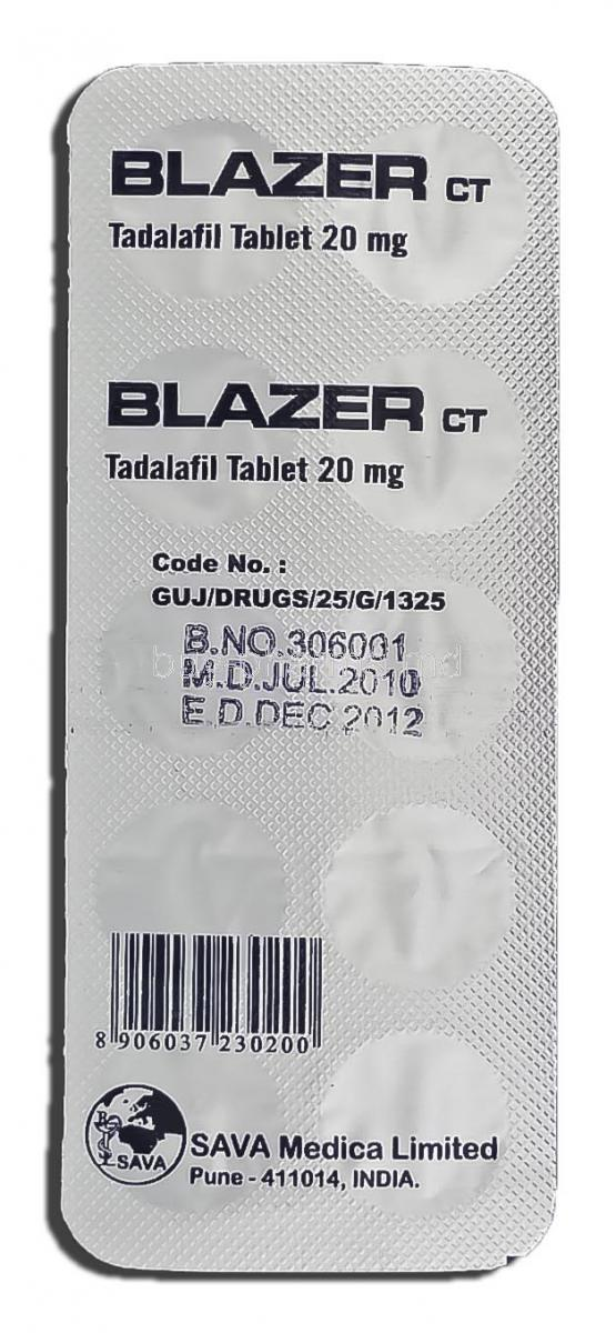 Test cialis 20 mg
