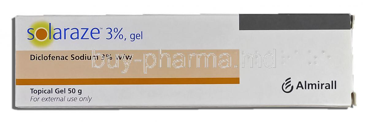 Diclofenac Sodium Topical Gel For Back Pain