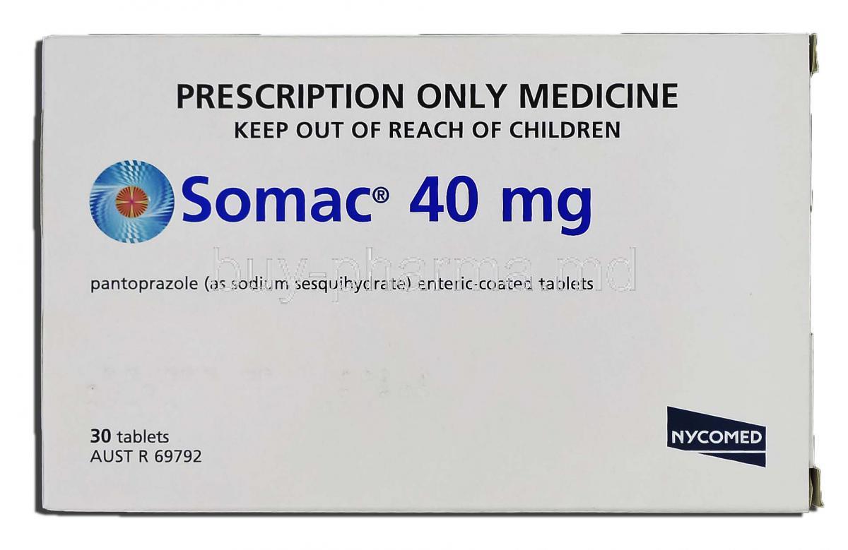 Bivirkninger Somac 40 Mg