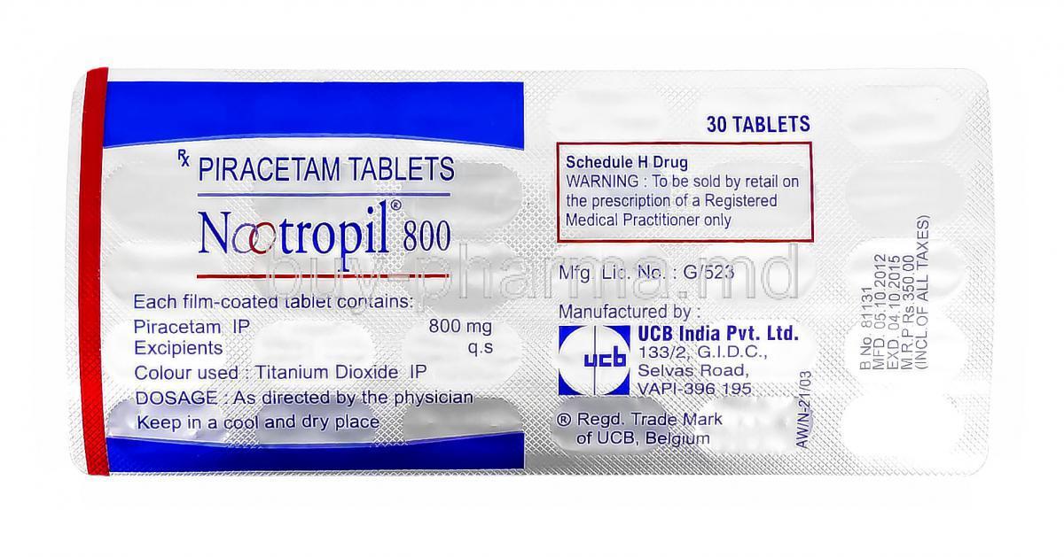 Nootropil Piracetam Buy Nootropil Piracetam