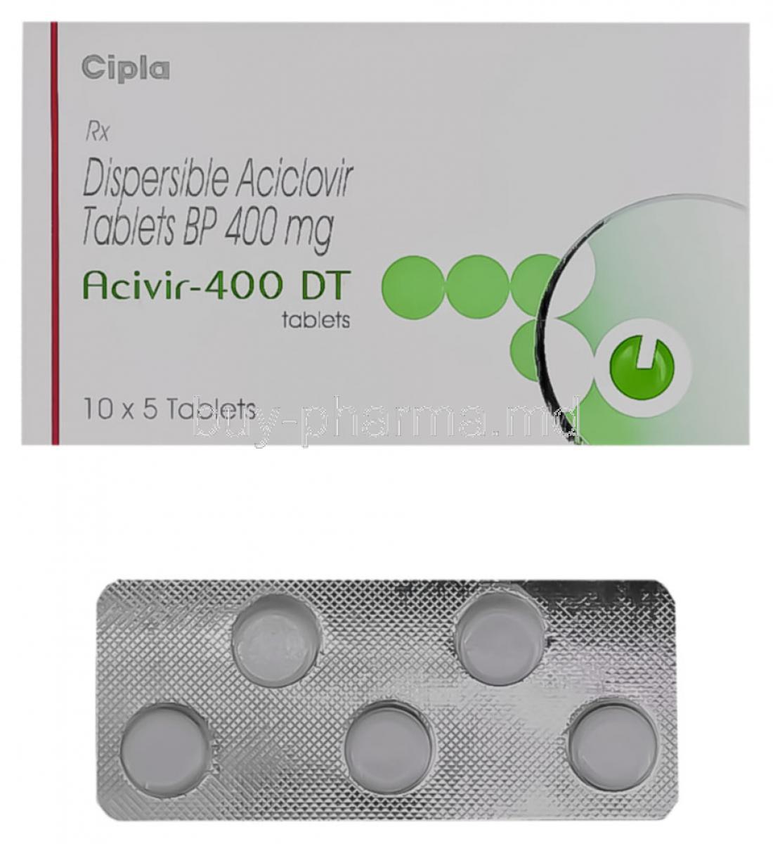 Cicloferon Aciclovir 400 Mg