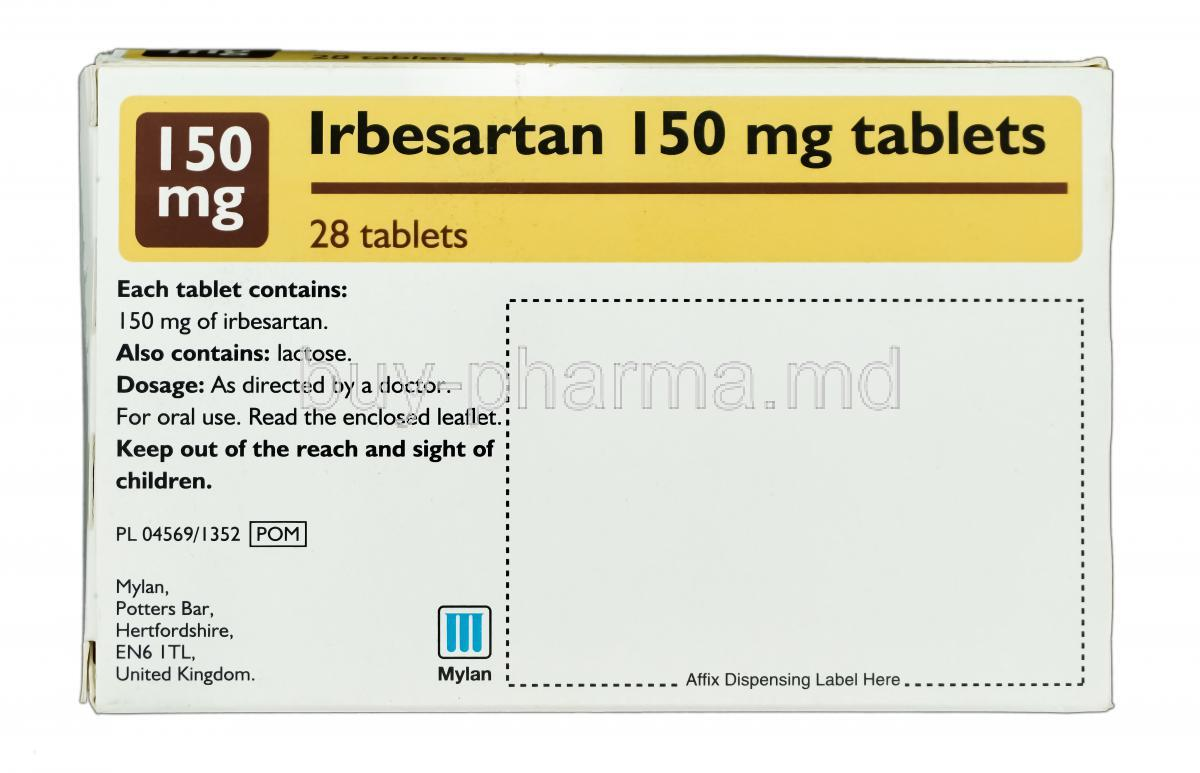 Avapro 150 Mg Picture