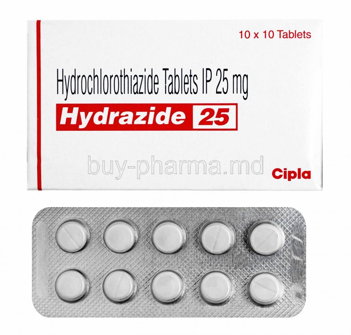 Buy Hydrochlorothiazide ( Generic Esidrex ) Online