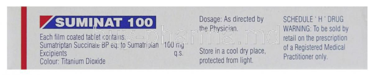 Suminat 25 mg ho