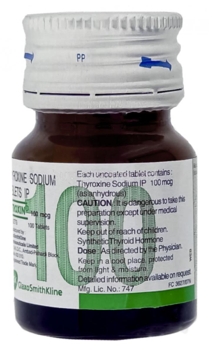 Buy Eltroxin Levothyroxine Sodium Generic Synthroid Online