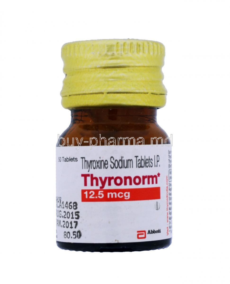 Thyronorm 25 mcg vs