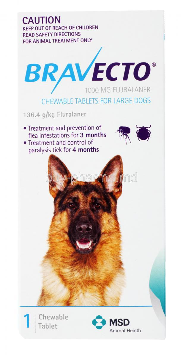 Buy Bravecto Chewable For Large Dogs Bravecto Online