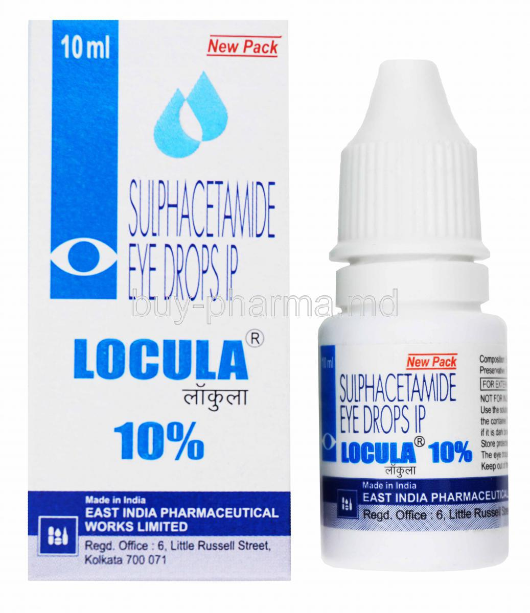 Antimicrobial Eye Drops Albucid 3
