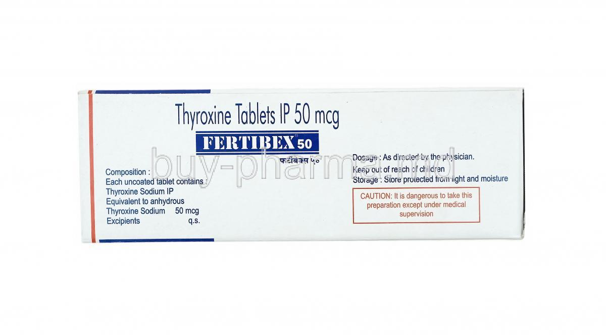 Buy Fertibex Thyroxine Sodium Online