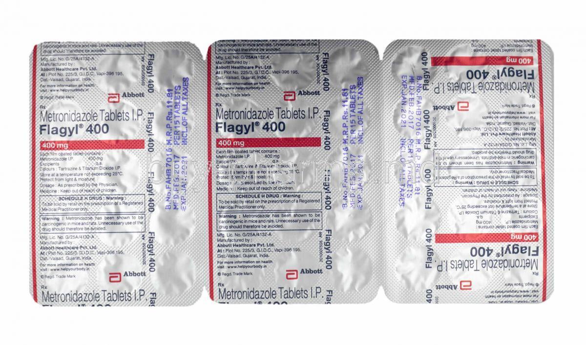 Flagyl 400 use