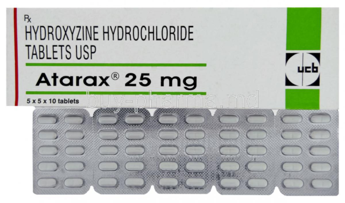 Atarax 25 MG Tablet - Uses, Side Effects, Substitutes ...
