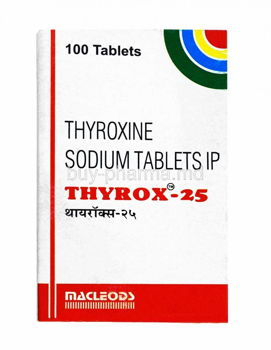Buy Thyrox Thyroxine Sodium Thyrox Online