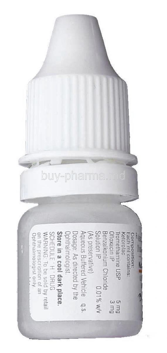 Eye Allergy Drops >> Buy Ketorolac Tromethamine/ Ofloxacin Eye Dropsonline