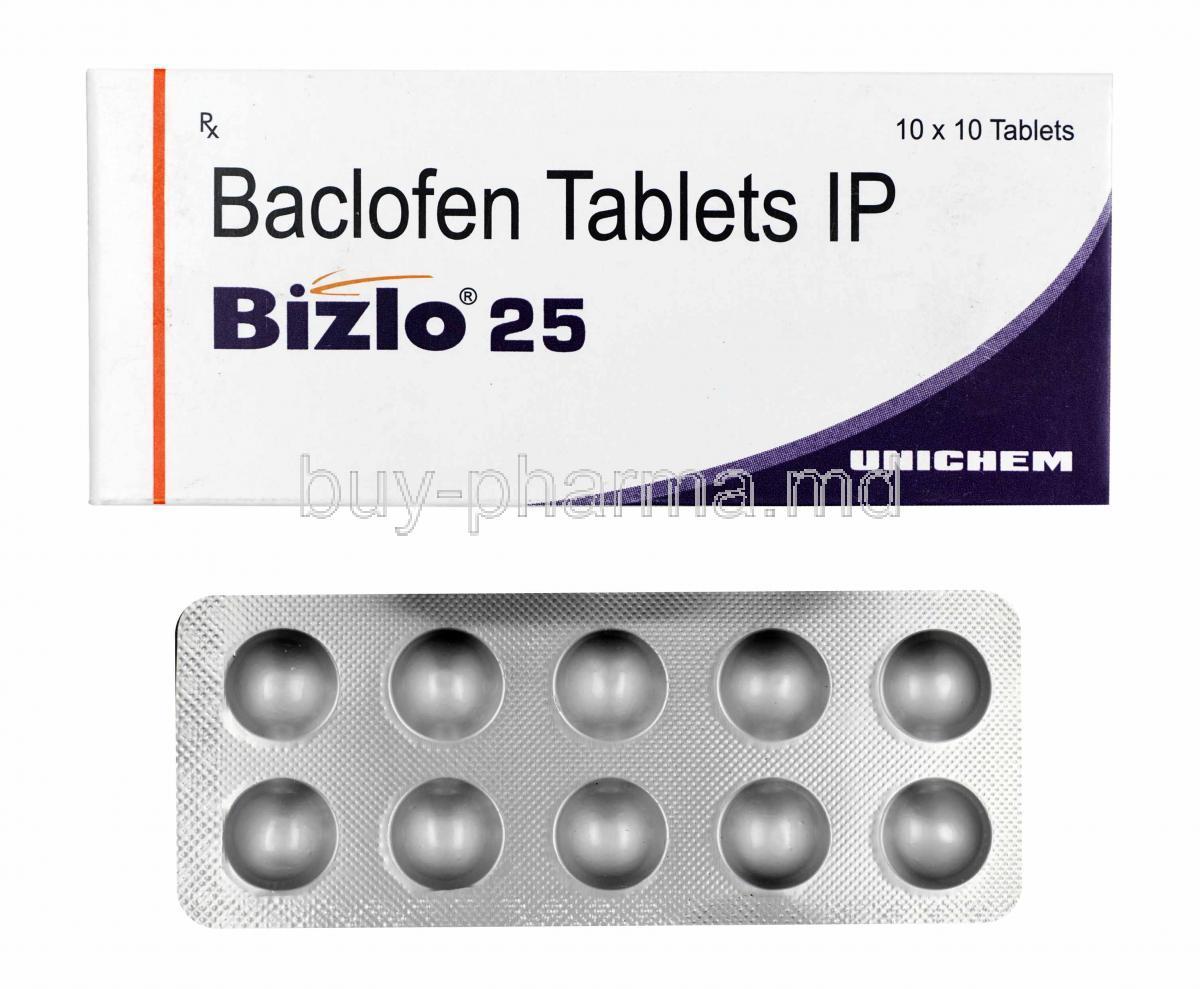 Baklofen prosztatagyulladásra, BACLOFEN árak