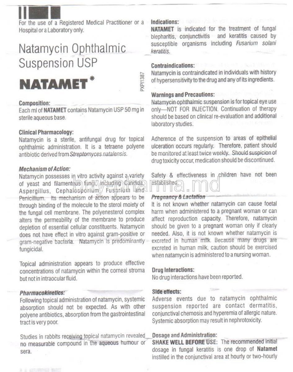 Natamycin Ophthalmic pics