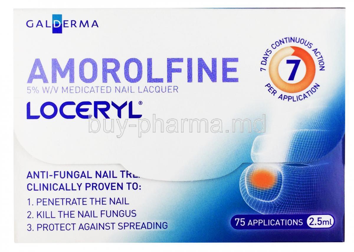 Amorolfine | Buy Amorolfine Amorolfine lacquer
