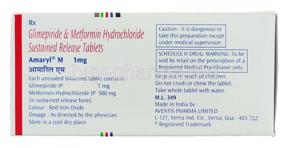Glimepiride (Amaryl) | Patient